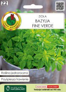 bazylia fine verde front