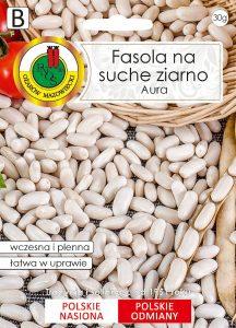 fasola na suche nasiona front