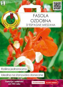 Fasola ozdobna D'Espagne front