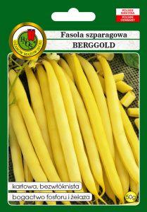 Fasola szparagowa żółta karłowa Berggold front