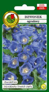 5904232147180 dzwonek ogrodowy niebieski front