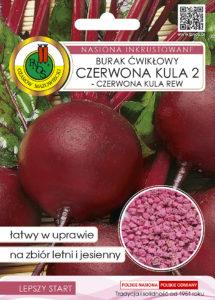 Nasiona buraka czerwona kula OW-1039-16 PNOS
